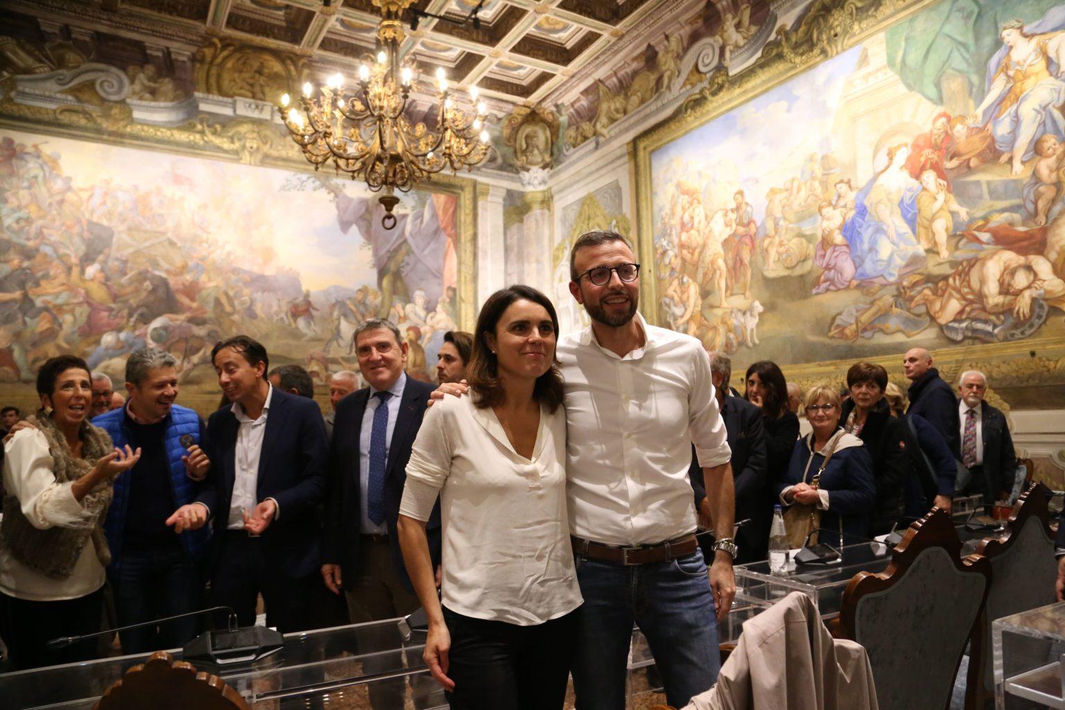 Antonio Mazzeo e Simona Bonafè - presebtazione libro Controcorrente